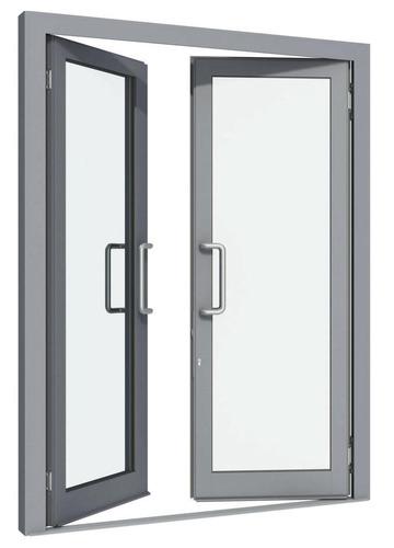 Stiklinės durys